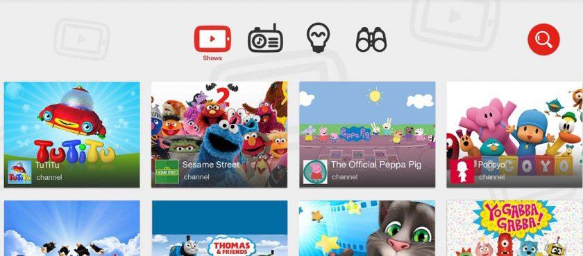YouTube Kids, plateforme de vidéo pour enfants, est disponible en France